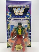 "NEW | WWE Masters Of The Universe RICKY ""THE DRAGON"" STEAMBOAT 