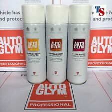 3 X Autoglym Hyper Fresh Air Freshener CRUSHED BERRIES, TROPICAL, GOLDEN SUNSET