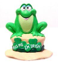 1991 NEW Hallmark St Patrick IRISH FROG Merry Miniature QSM1539 Never Displayed