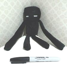 BN black MINECRAFT ENDERMAN soft plush toy 25cm NEW