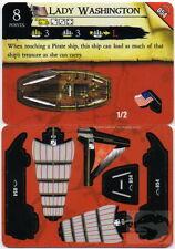 Wizkids Pirates Pocketmodel - Lady Washington (Ship) RotF 054 C