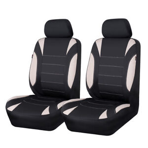 Universal Car Seat Covers Car Seat Cushion Two Front NEOPRENE Waterproof Airbag