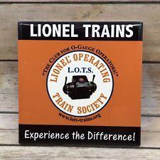 Retired Lionel Trains Operating Train Society O-Gauge Club Ceramic Tile USA
