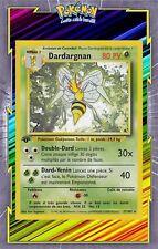 🌈Dardargnan - Set de Base Edition 1 - 17/102 - Carte Pokemon Neuve Française