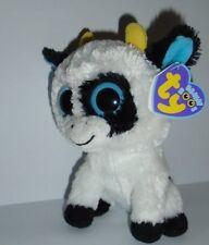 TY Beanie Boo-Daisy la mucca-sereis originale con etichetta VIOLA-NUOVO