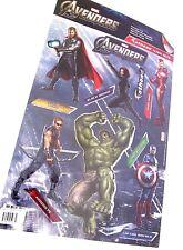 "Marvel Avengers Assemble Team Set Fathead  Vinyl  Wall Logo Decal 20"" x 12.25"""