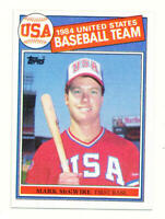 1985 Topps #401 Mark McGwire OLY MINT RC Rookie USA