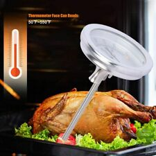 BBQ Smoker Grill Stainless Steel Barbecue Thermometer 0-300℃ Temperature Gauge
