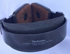 Technics EAH-810 orthodynamic Stereo Headphones Made in Japan Vtg