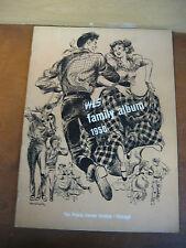 WLS RADIO 1950 FAMILY ALBUM McFARLANDS LITTLE GENEVIEVE PRAIRIE FARMER STATION