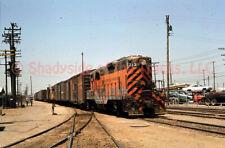 Western Pacific EMD GP7 Diesel Locomotive #713 Original Slide Oakland