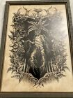 """Mandrake root man, Wicca, Pagan, Occult, Nature, Framed Art Print 11.5""""x16"""""""