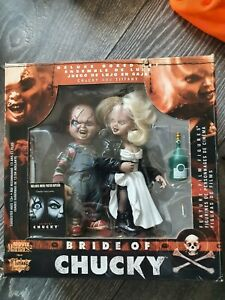 McFarlane Movie Maniacs 2 Bride of Chucky 2 figure Deluxe Box Set