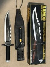 Rambo First Blood II Limited Edition Signature Knife -3854/10000