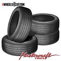 4 X New Mastercraft STRATUS AS 225/55R18 98H Tires