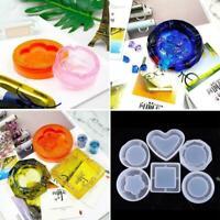 Silicone Mold DIY Ashtray Mold Handmade Craft Epoxy Making Resin Jewelry V7A5
