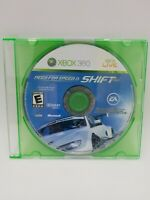 Need for Speed: Shift (Microsoft Xbox 360, 2009) Tested - Disc Only