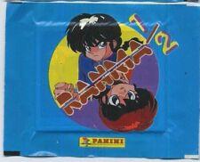 1 BUSTINA FIGURINE ANIME STICKER PANINI 1996,RANMA PACK VERSION RAGAZZA GIRL,BOY