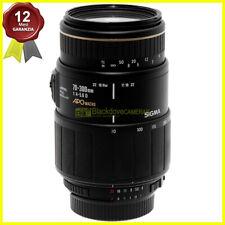 Obiettivo Sigma 70/300mm f4-5,6 APO zoom Full Frame per fotocamere Reflex Nikon