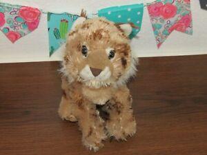 "Wild Republic Bobcat Lynx Spotted Wildcat Bobtail Plush Stuffed Animal Toy 10"""