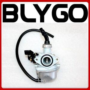 PZ 19mm Lever Choke Carb Carby Carburetor 90 110cc PIT Quad Dirt Bike ATV Buggy