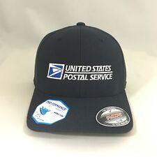 USPS Flexfit Cap 6580 Pro-Formance U.S. Postal Service Hat Dark Navy Yupoong LXL