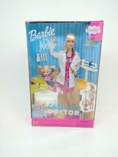 Vintage 2000 Barbie and Kelly Career Series Children's Doctor #29461 NRFB