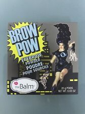The Balm Cosmetics Brow Pow Eyebrow Powder Dark Brown