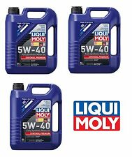 15 Liters Liqui Moly HIGH TECH 5w40 Synthetic Engine Motor Oil for BMW Mercedes