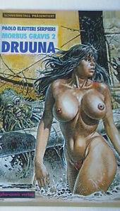 Comic: DRUUNA - MORBUS GRAVIS 2 --- von SERPIERI --- SC