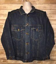 Venezia Mens Blue Trucker Jean Jacket Size 22/24