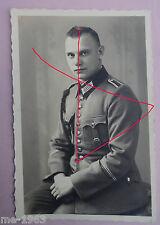 original Foto Portrait Polizei Heer mit grüner Schützenschnur