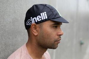 Pace Sportswear Cinelli Hex-Tek Cycling Cap UPF 50 Plus Black One Size