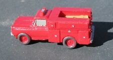 Fire Rescue Squad - Z-5153 - Easy to build Z Scale kit by Randy Brown