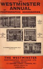 The Westminster Annual of Photographic Accessories 1938 150+pp
