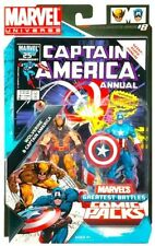 Marvel Universe Comic Pack Greatest Battles Wolverine Captain America!