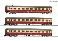 """Roco H0 74095 Autoreisezugwagen-Set 1 """"Christoforus-Express"""" der DB - NEU + OVP"""
