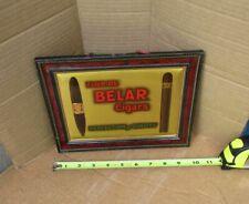 Vintage Belar Cigar Self framed easle back Tobacco Sign