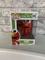 Funko Pop Vinyl - Sesame Street - Elmo #08 - RARE!
