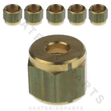 Lot de 6 X Universel 6mm Nat & gaz GPL pilote tube tube UK compression nuts