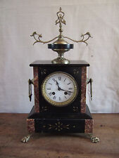 ANTIQUE FRENCH MANTLE CLOCK BY S. MARTI et CIE  ALL GOOD