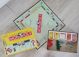 Monopoly Board Game - Australian Edition - With Koala token - 1999
