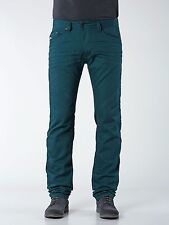 DIESEL DARRON SLIM TAPERED JEANS TEAL GREEN 008QU Size 33x32