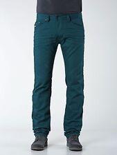 DIESEL DARRON SLIM TAPERED JEANS TEAL GREEN 008QU Size 33x32