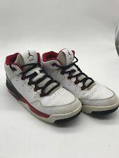 920e12a8d3c7 Nike JORDAN Flight Origin 2 GS 705160-106 White-Black 6.5 Youth