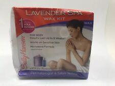 1pk Sally Hansen Lavender Spa Wax Hair Removal Kit for Body Legs Arms & Bikini