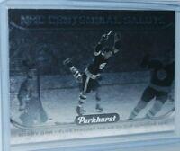 2016-17 Upper Deck Parkhurst NHL Centennial Salute #S-2 Bobby Orr Boston Bruins