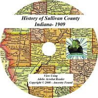 1909 History & Genealogy of SULLIVAN County Indiana IN