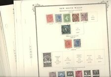 Australian States, Excellent Stamp Collection hinged on Scott Specialty pages