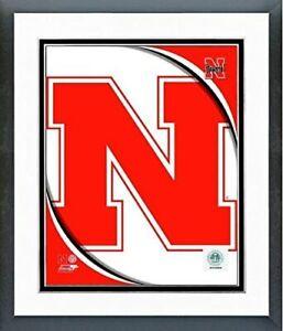 "Nebraska Cornhuskers Team Logo Composite Photo (Size: 12.5"" x 15.5"") Framed"